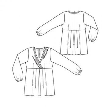 Burda Style | Tunic Top (Plus-Size)1/2010 #134