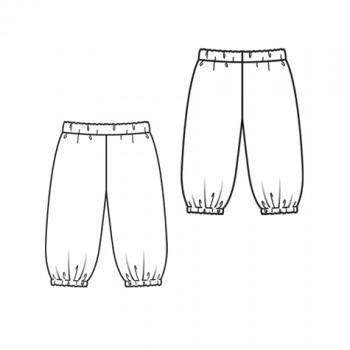 Burda Style | Girls' Trousers 5/2010#147