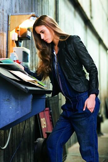 Burda Style   Leather Jacket (Petite-Size) 08/2010#113