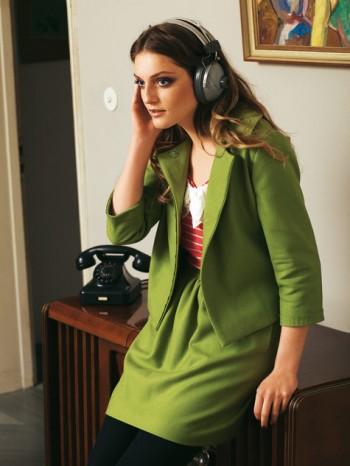 Burda Style   Cropped Wool Jacket 10/2010 #113