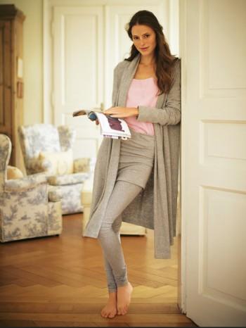 Burda Style | Long Knit Jacket 01/2011 #126B