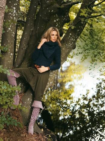 Burda Style | Short Harem Trousers 01/2011 #124 AB