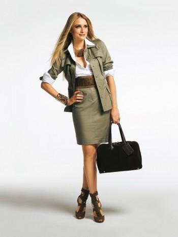 Burda Style | Safari Jacket (Petite-Size) 02/2011 #127