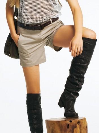 Burda Style | Safari Shorts 02/2011 #122B