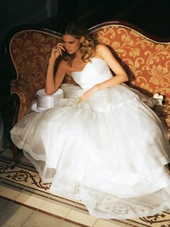 Burda Style | Strapless Wedding Gown 3/20110#101B