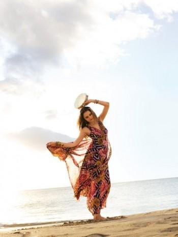 Burda Style | 3/2011 Maxi Dress #113B
