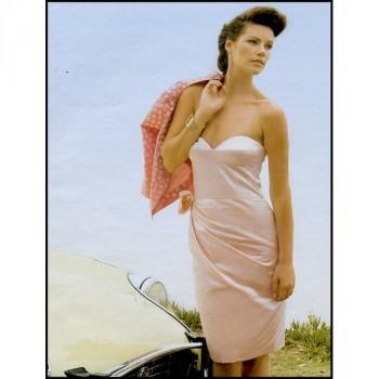 Burda Style | 5/2011 Bustier Dress #122B