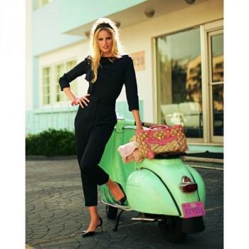 Burda Style | High Waisted Trousers (Petite-Size) 06/2011 #123