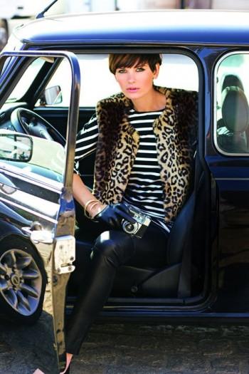 Burda Style | Fur Waistcoat (Petite-Size) 09/2011 #101