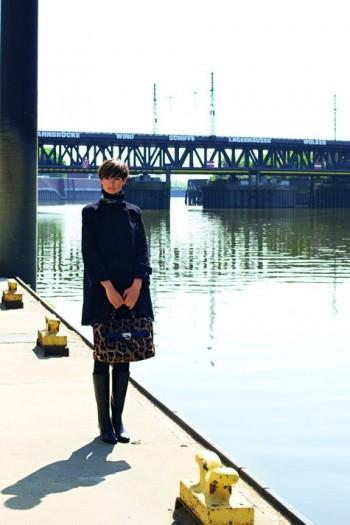 Burda Style | Three Quarter Length Sleeve Mod-style Coat (Petite-Size) 09/2011 #103