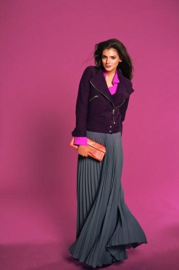 Burda Style   Jacket with Front Zipper (Petite-Size) 09/2011 #102