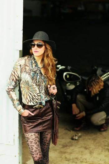 Burda Style | Leather skirt 10/2011 #102