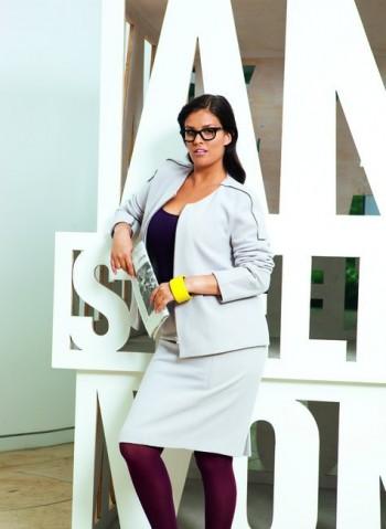 Burda Style | Zip Up Jacket (Plus Size) 10/2011 #133