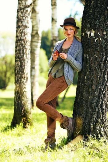 Burda Style | Leather Trousers 11/2011 #108B