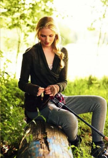 Burda Style | Knit Wrap Top 11/2011 #114A