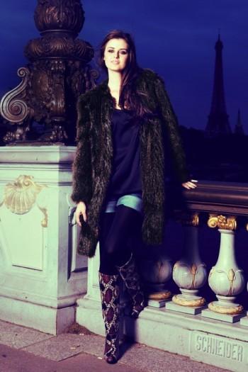 Burda Style | Fur coat 11/2011 #101