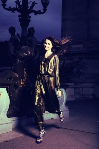 Burda Style | Metallic Jumpsuit 11/2011 #102