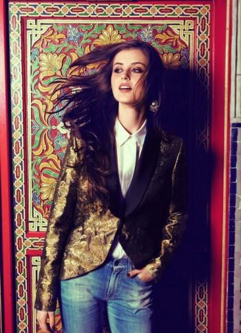 Burda Style | Brocade jacket 11/2011 #110