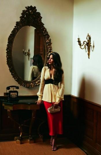 Burda Style | V-neck blouse 12/2011 #106