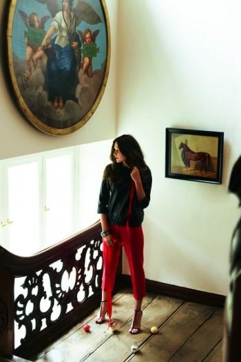 Burda Style | Leather top 12/2011 #109A