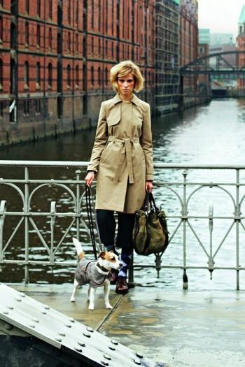 Burda Style   Trench coat 12/2011 #118