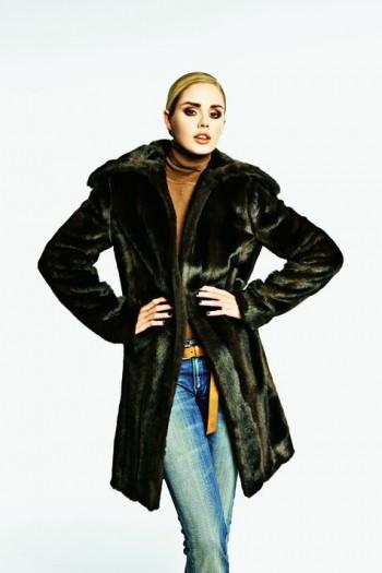 Burda Style | Fur coat 01/2012 #116
