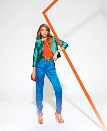 Burda Style | Short Jacket (Petite-Size) 02/2012 #101