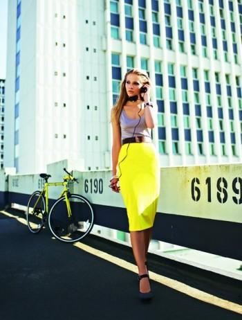 Burda Style | 02/2012 Stretch Pencil Skirt #121B