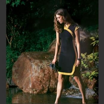 Burda Style | Cheongsam Dress 02/2012 #111