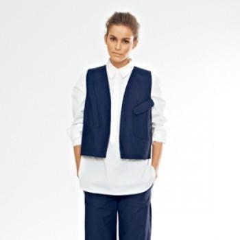Burda Style | Waistcoat 03/2012 #123