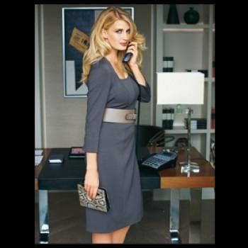 Burda Style | Jersey Dress Plus Size 01/2011 #133