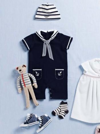 Burda Style | Baby Jumpsuit 07/2012 #143