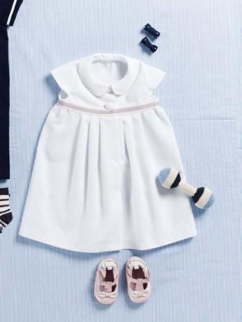 Burda Style | Pleated Baby Dress 07/2012 #145