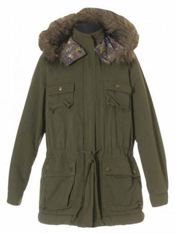 Burda Style | Fur Hood Parka 10/2010 #145