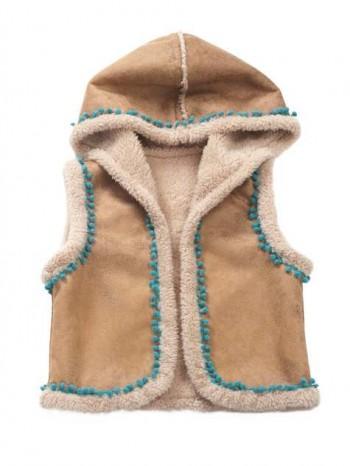 Burda Style | Shearling Children's Waistcoat 10/2012 #148