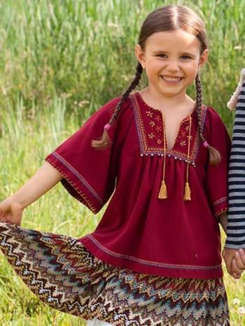 Burda Style | Tassel Blouse 10/2012 #150