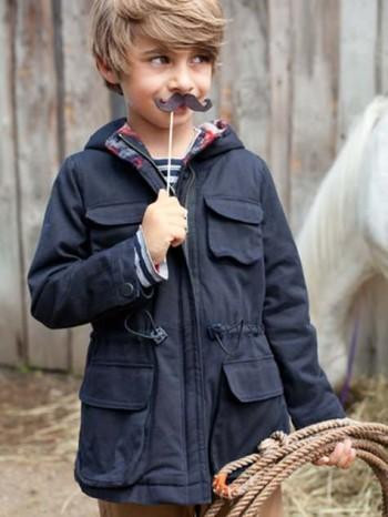 Burda Style | Children's Parka 10/2012 #153