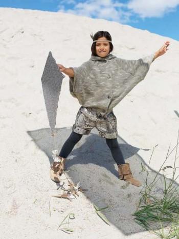 Burda Style | Girl's Cuffed Short 11/2012 #153