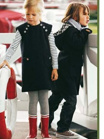 Burda Style | Girl's Jumper 10/2011 #142