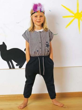 Burda Style | Children's Button Jumpsuit 12/2011 #140