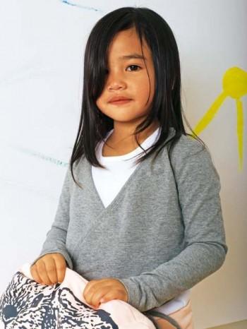 Burda Style | Girl's Wrap Top 12/2011 #143