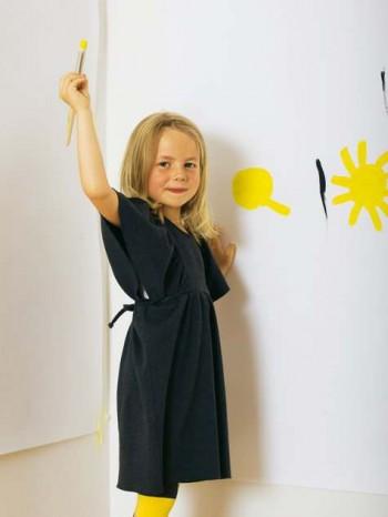 Burda Style | Girl's Flouncy Dress 12/2011 #144