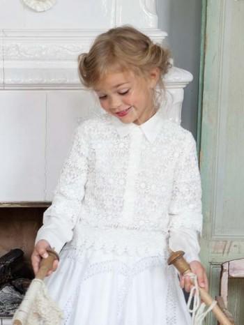 Burda Style | Girl's Lace Top 12/2012 #152