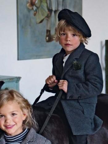 Burda Style | Boy's Frock Coat 12/2012 #158