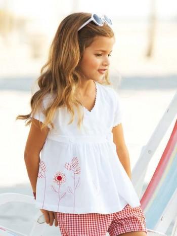 Burda Style | Girl's Flower Tunic 05/2012 #142