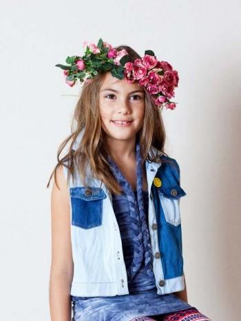 Burda Style | Children's Denim Waistcoat 03/2013 #146