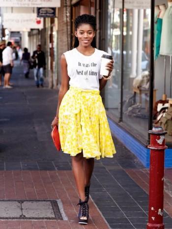 Burda Style | Godet Skirt 06/2013 #132