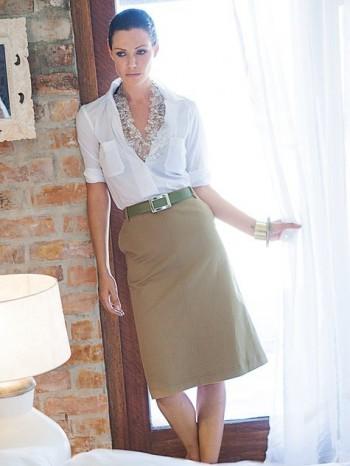 Burda Style | Trapezoid Skirt 06/2013 #121