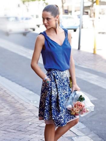 Burda Style | Wrap Skirt 07/2013 #111