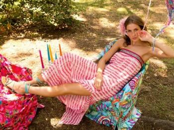 Burda Style | Linen Dress 07/2013 #129